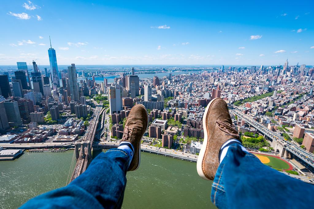 Shoe Selfie Photo