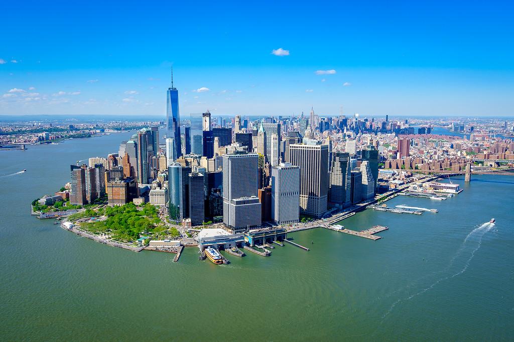 Manhattan Helicopter Flight