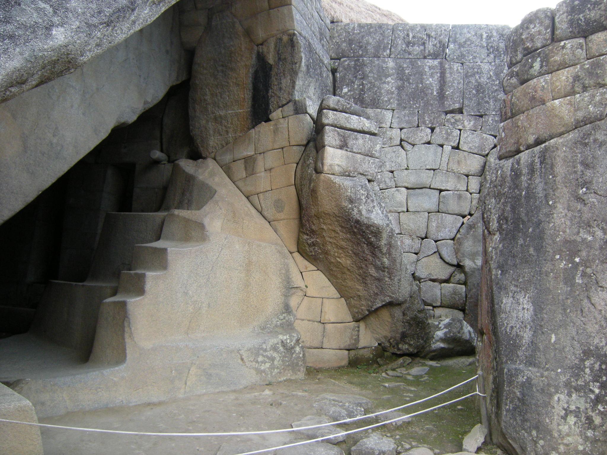 Royal Tomb Machu Picchu