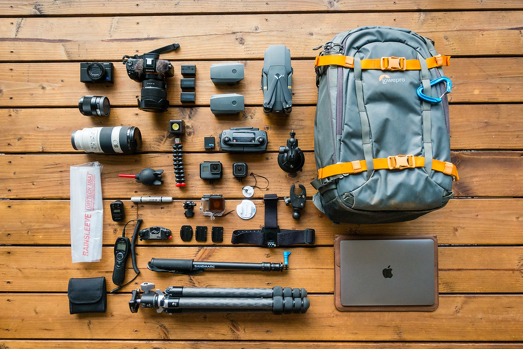 Travel Photography Camera Gear