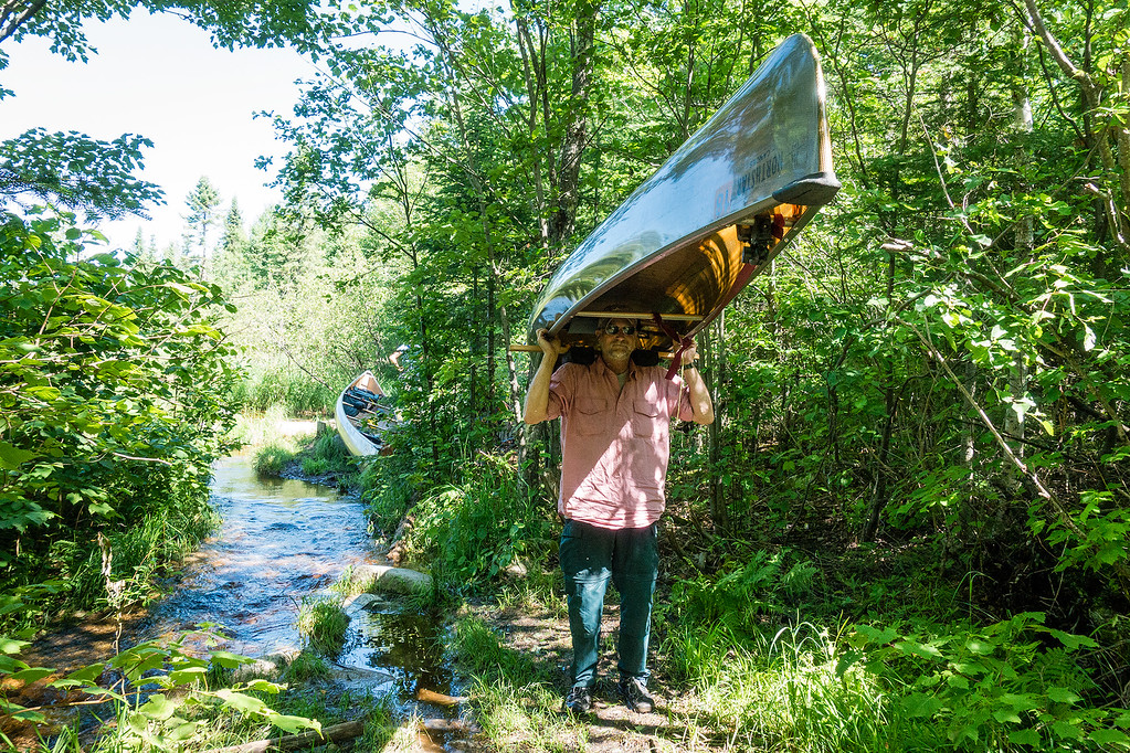 Carrying a Canoe