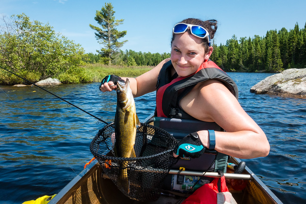 Walleye Fishing Boundary Waters