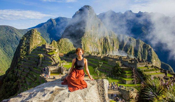 Heather in Peru