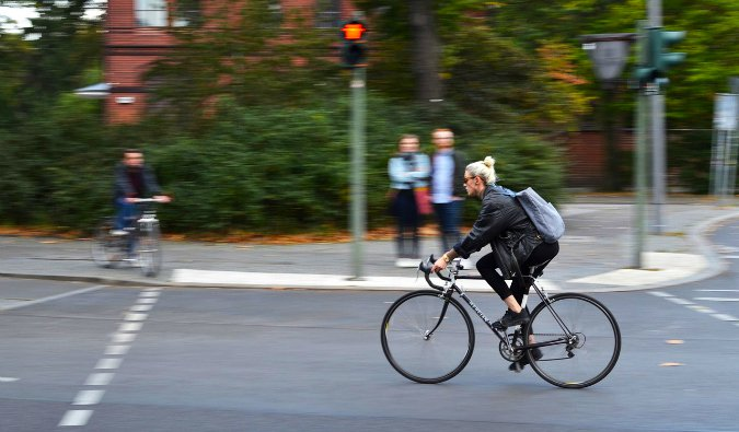 Biking in Berlin, Germany is easy and cost effective