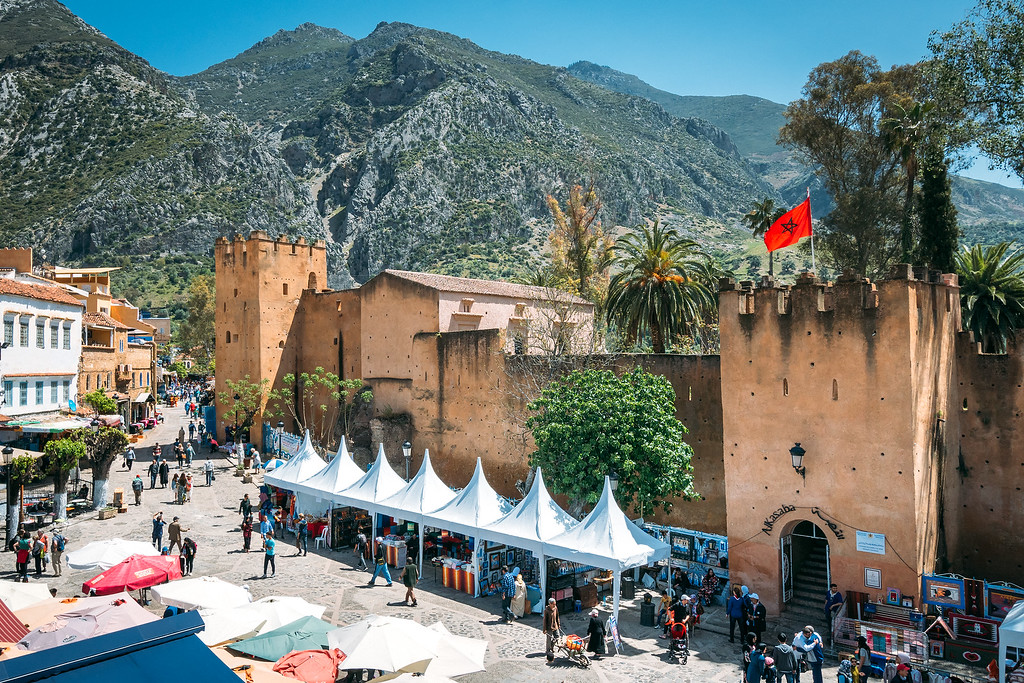 Chefchaouen Morocco Kasbah