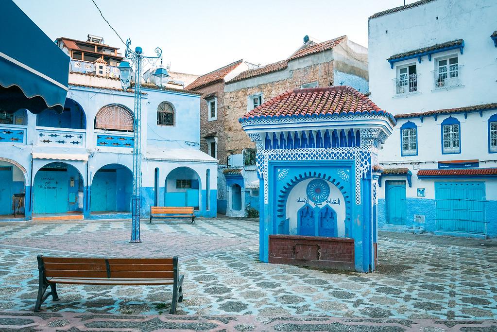 Chefchaouen Morocco Square