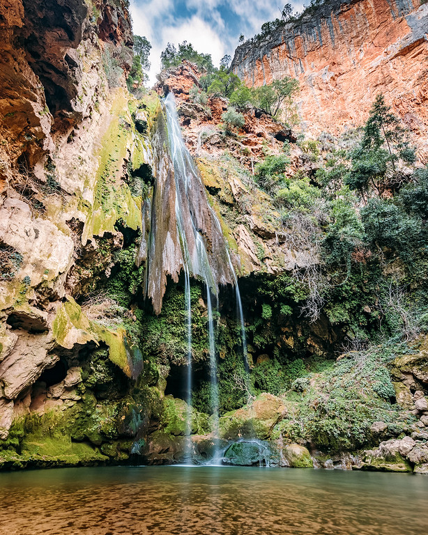 Chefchaouen Morocco Waterfall