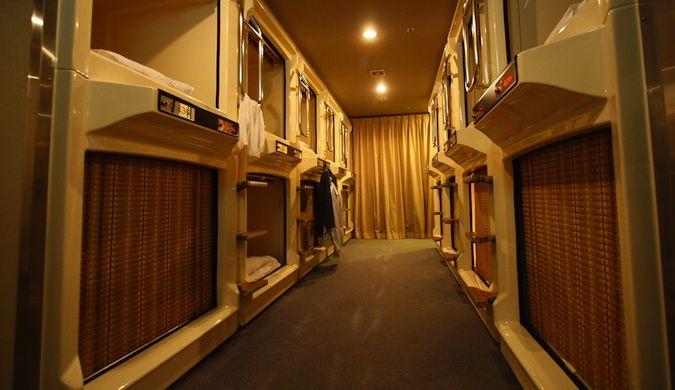 capsule hotels in japan