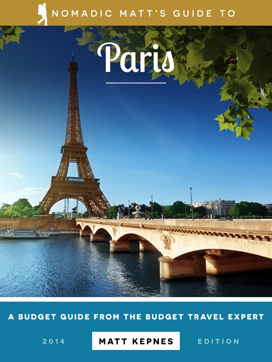 Paris Guidebook cover Nomadic Matt