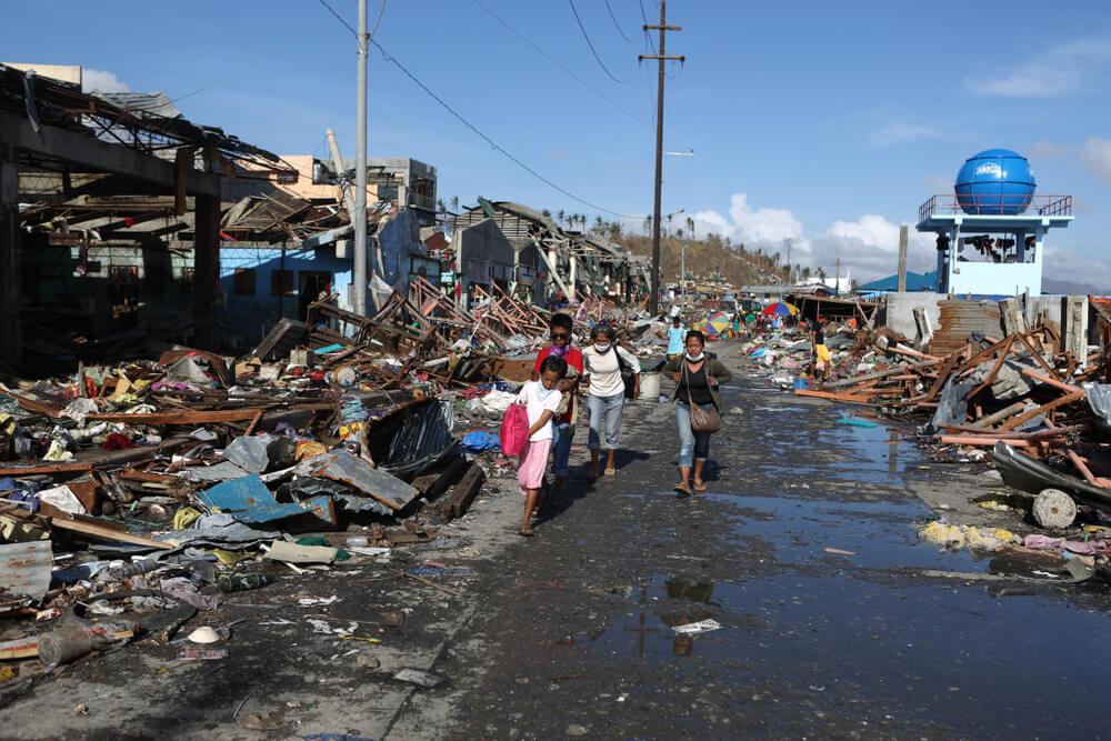 Typhoon Haiyan The Philippines