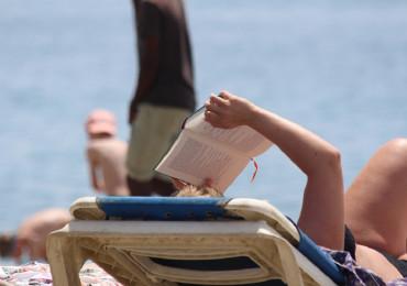 Summer Sea Cultures Beach Sand Book Reading